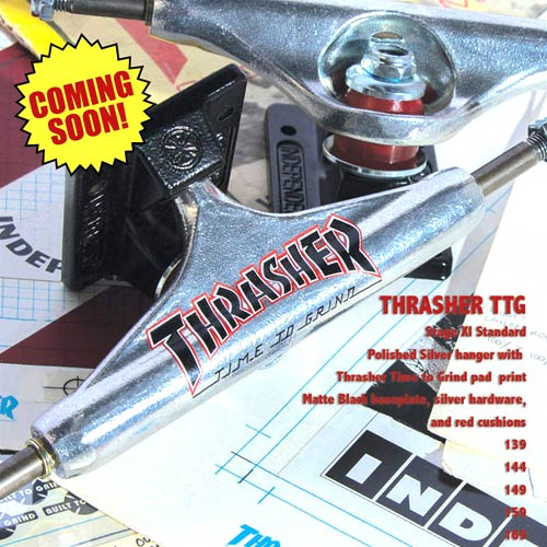 Buy Independent Trucks Stg 11 Thrasher TTG Edition Silver Black Canada Online Sales Vancouver Pickup