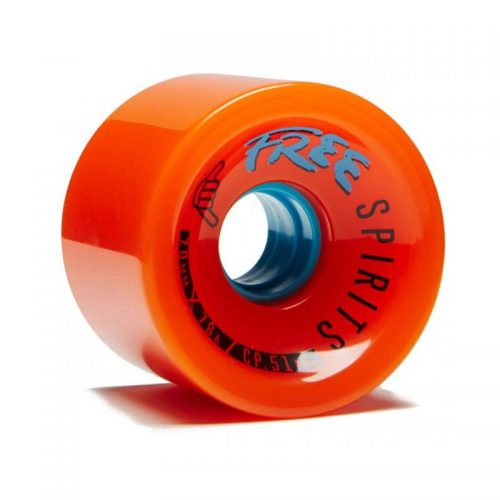 Buy Free Wheel Spirits 70mm 78a Orange Canada Online Vancouver Pickup