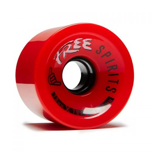 Buy Free Wheel Spirits 70mm 78a Red Canada Online Vancouver Pickup