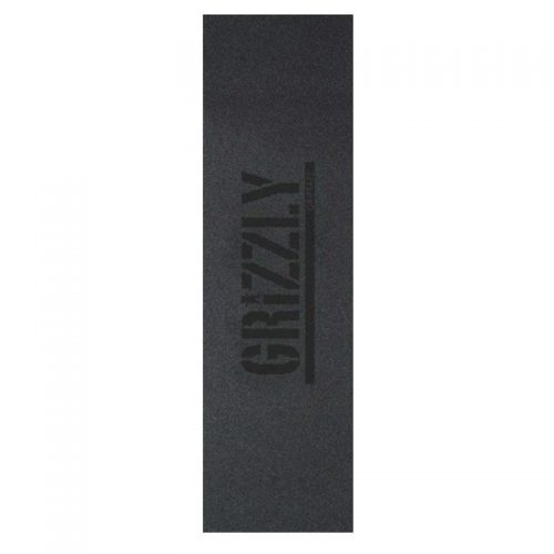 Grizzly Griptape Stamp Black 9'' x 33''