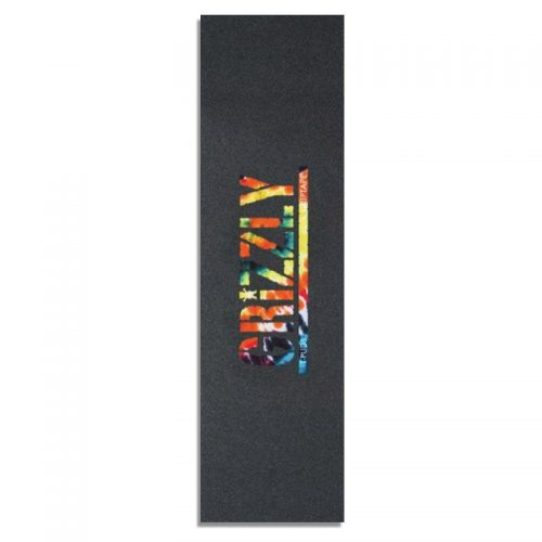 Grizzly Griptape T Puds Orange Tie Die 9'' x 33''