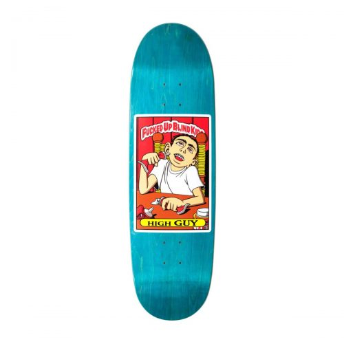 "Buy Blind Fucked Up Blind Kids Guy Mariano High Guy HT Reissue Deck 9"" x 32"" Teal Canada Online Sales Vancouver Pickup"
