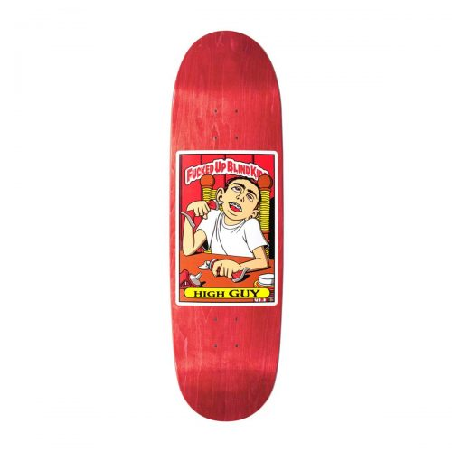 """Buy Blind Fucked Up Blind Kids Guy Mariano High Guy SP Reissue Deck 9"""" x 32"""" Red Canada Online Sales Vancouver Pickup"""