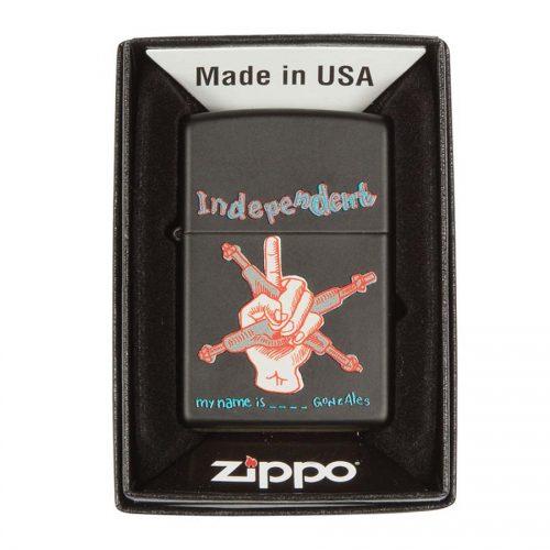 Independent Zippo
