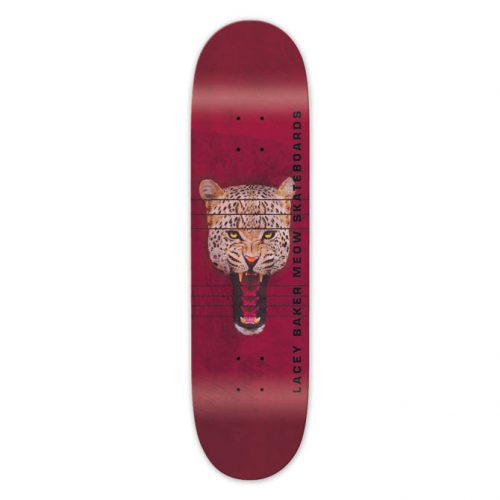 "Buy Meow Skateboards Lacey Baker Red Jones Deck 8.0"" x 31.75"""