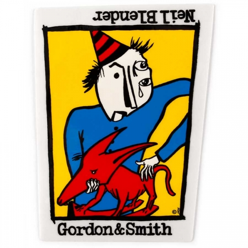 Buy Neil Blender Rocking Dog Sticker Gordon and Smith Canada Online Sales Vancouver Pickup