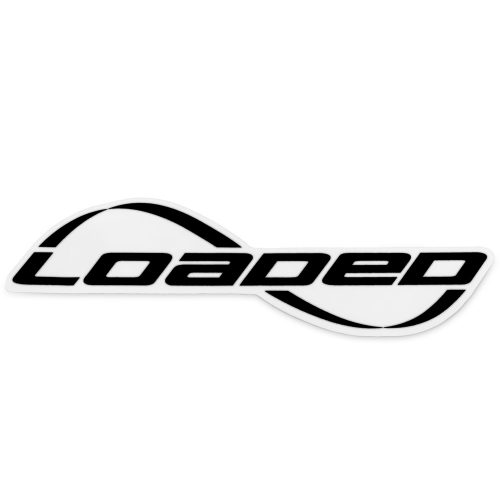 Loaded Sticker Black