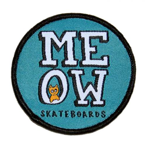 """Buy Meow Skateboards Blue Patch 2.5"""" Canada Online Sales Vancouver Pickup"""