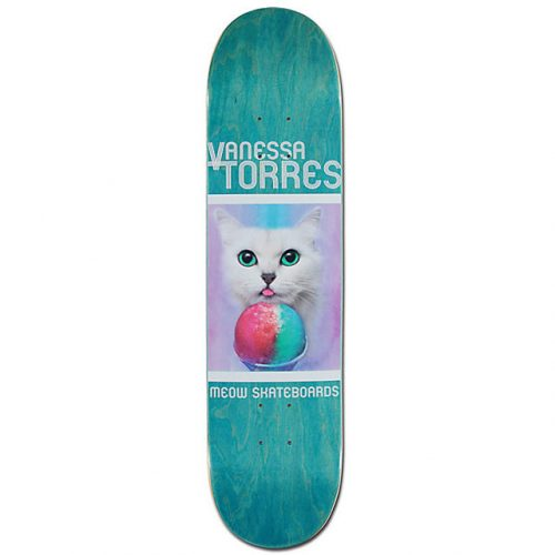 "Buy Meow Skateboards Vanessa Torres 8"" x 31.75"" Deck Canada Online Sales Vancouver Pickup"