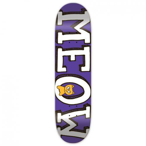 "Buy Meow Skateboards Purple Logo Deck 7.5"" x 30.75"" Canada online Vancouver pickup"