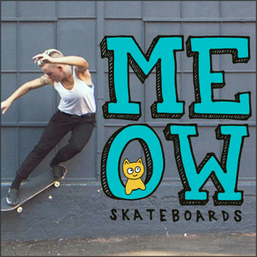 Buy Meow Skateboards Lacey Baker Red Jones Deck 8.0