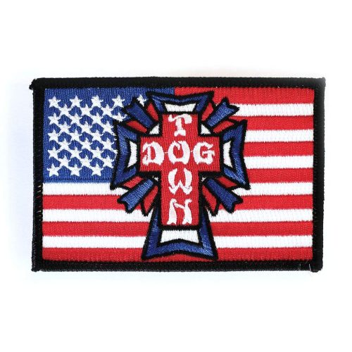 Dogtown Embroidered Patch Flag