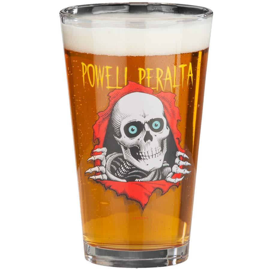 Powell Peralta Ripper Pint Glass