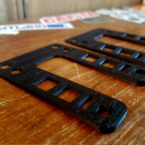 Flatland3D Boosted Board Wedge Riser Pads (Set of 2)