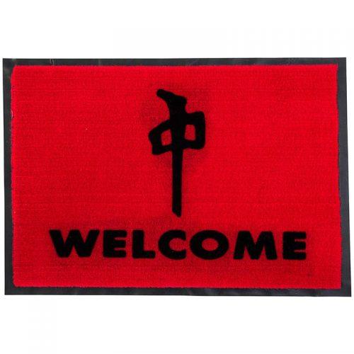 """Buy RDS Welcome 18"""" x 27"""" Door Mat Red Canada Online Sales Vancouver Pickup"""