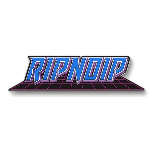 "Buy Rip N Dip Rave Pin 1"" x 1.25"" Canada Online Sales Vancouver Pickup"