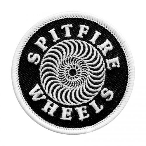 Spitfire Patch Classic Black and White
