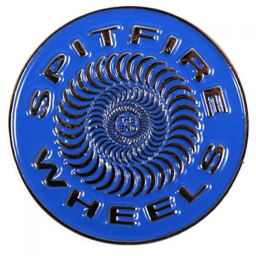Spitfire Blue Swirl Pin