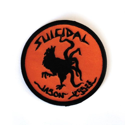 Suicidal Embroidered Jason Jessee Rooster Patch