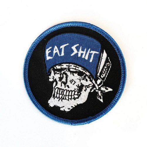 Suicidal Embroidered Jason Jessee Skull Patch