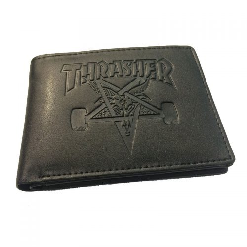 Thrasher Magazine Skategoat Wallet Black