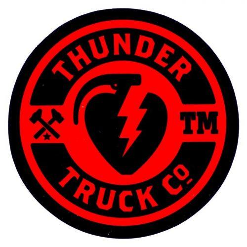 Thunder Trucks Ramp Sticker