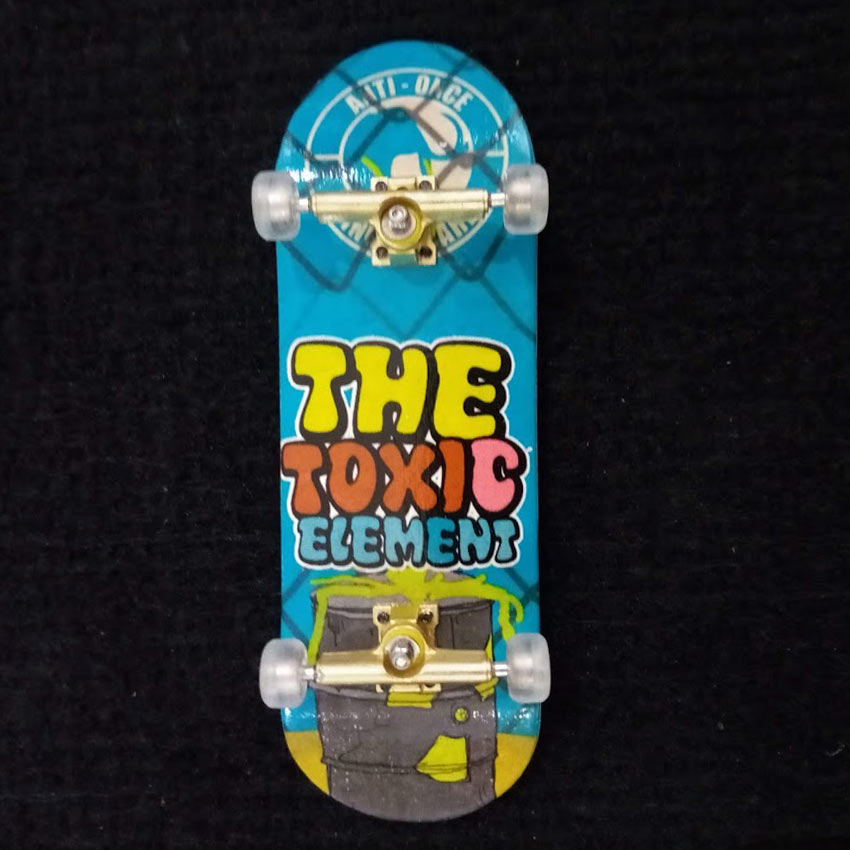 Buy ANTI ONCE 33MM Fingerboards Toxic Element Complete Canada Online Sales Vancouver Pickup