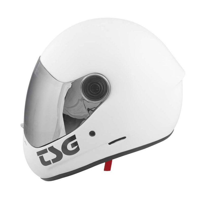 Buy TSG Pass Full Face Helmet Satin White + Bonus Visor Canada Online Sales Vancouver Pickup