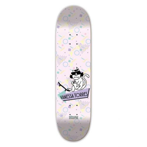 """Buy Meow Skateboards Vanessa Torres Cool Cat Deck 7.75"""" x 31.62"""" Canada online Vancouver pickup"""