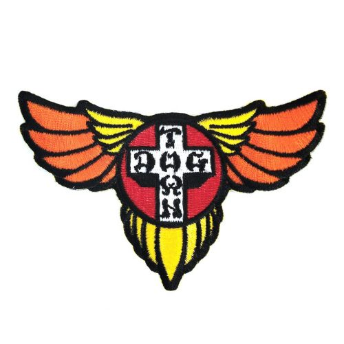 Dogtown Embroidered Patch Wings